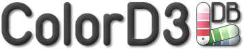 ColorD3 logo